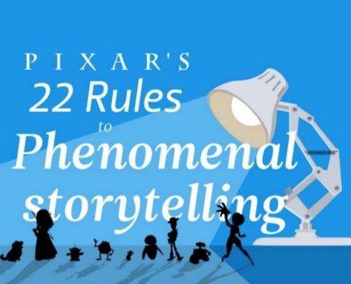 Les 22 règles de storytelling dePixar